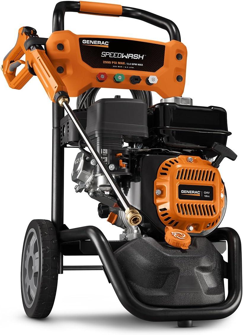 Generac 6882 GPW 2900PSI Power Washer SPEEDW, 2900 PSI