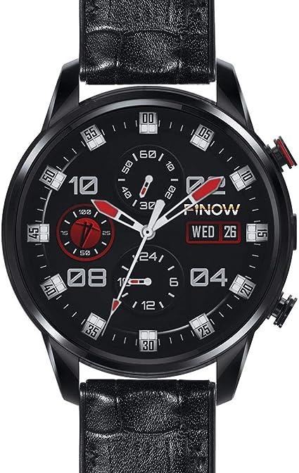 FINOW X7 - Reloj Inteligente MTK6739 Procesador (Negro): Amazon.es ...