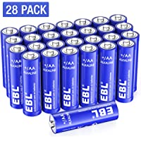 Deals on 28 Pack EBL AA 1.5V High Performance AA Alkaline Batterie