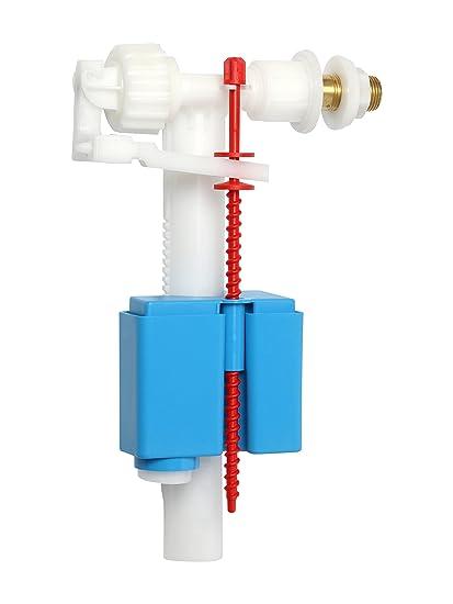 Válvula de flotador universal para cisternas de plástico y cerámica