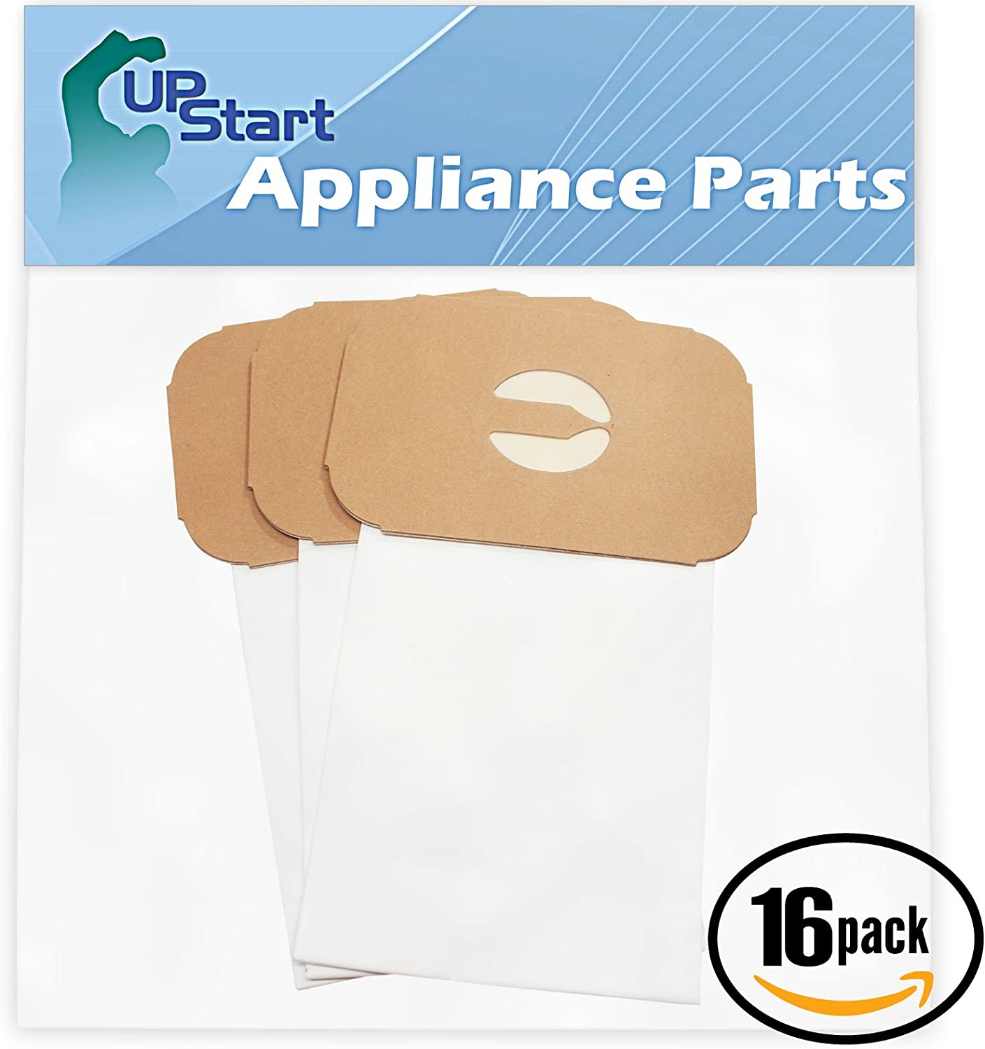Upstart Battery 48 Replacement for Aerus/Electrolux Golden Jubilee Style C Vacuum Bags - Compatible with Aerus/Electrolux Canister Tank Type C Vacuum Bags (16-Pack - 3 Vacuum Bags per Pack)