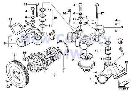 3 x bmw genuine brakes engine hex bolt with washer m6x40 znniv si x5 4 4i