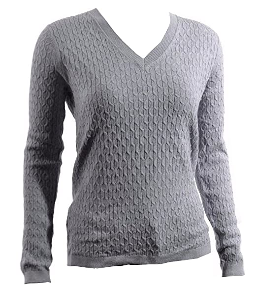 2e280613bb4 Tommy Hilfiger Women's V-Neck Knit Sweater