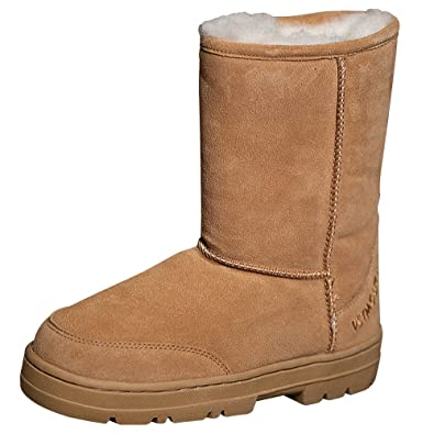 Amazon.com | Plymouth Mocs Womens Boot Slippers | Slippers