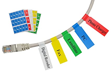 patch cord label template