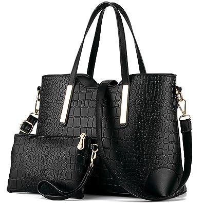 YNIQUE Women Top Handle Satchel Handbags Tote Purse: Handbags ...