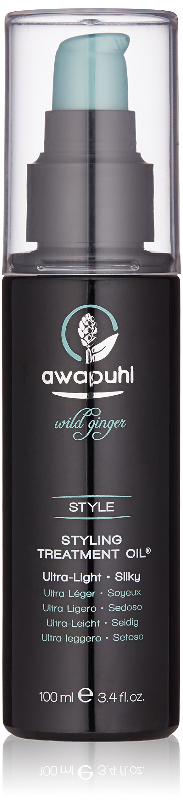 Paul Mitchell Awapuhi Wild Ginger Styling Treatment Oil 3.4 oz by Awapuhi Wild Ginger