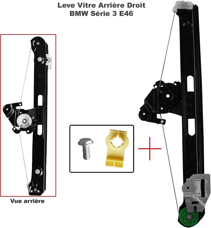 sans moteur AP DISTRIBUTION M/écanisme de l/ève vitre /électrique arri/ère droit pour BMW S/érie 3 E90 E91