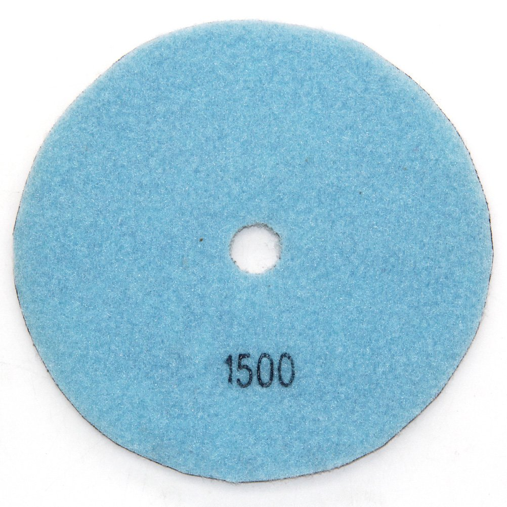 Easy Light Premium Grade Diamond Dry Polishing Pads for Grinding Marble Granite Stone Pack of 10Pcs 5 Inch Grit 100