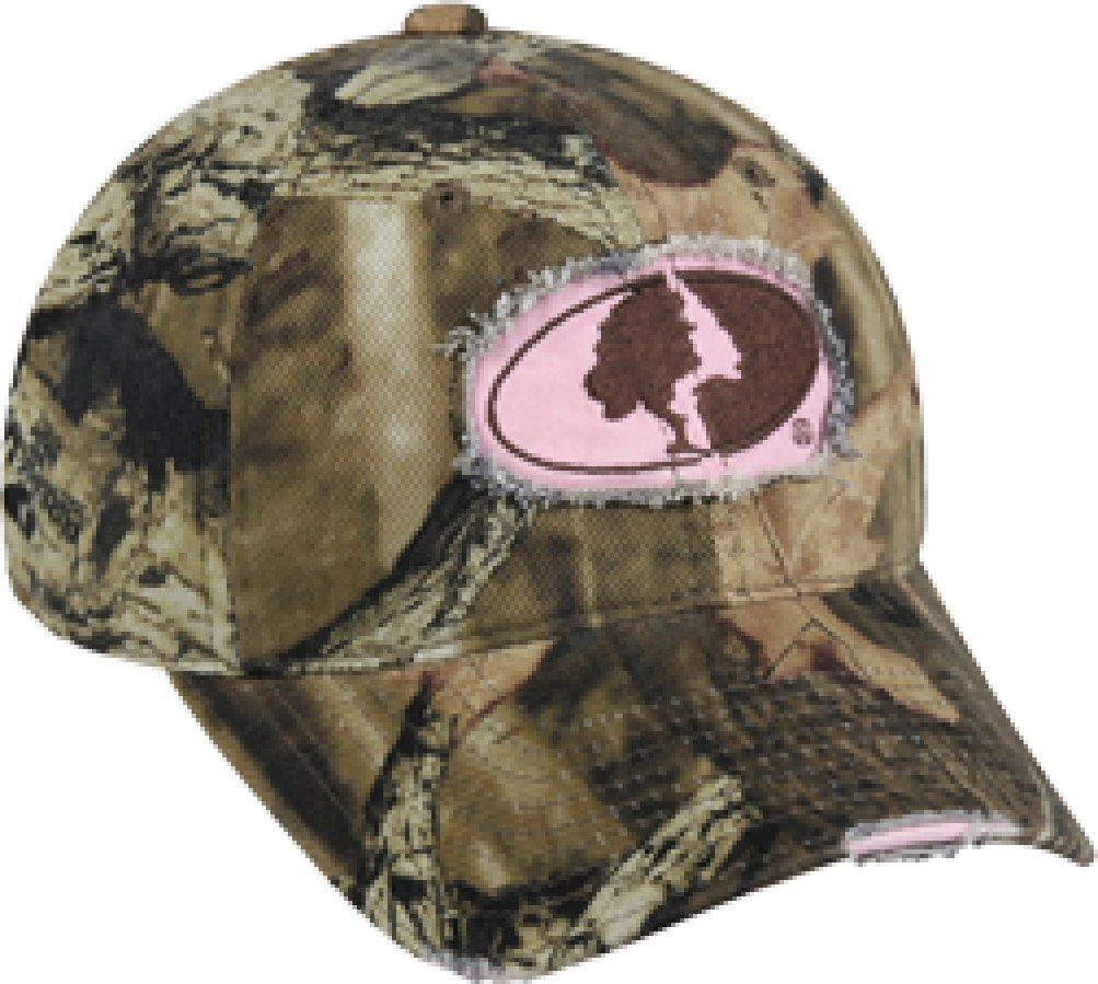 Outdoor Cap Company Ladies Mossy Oak Breakup Infinity Frayed Hat