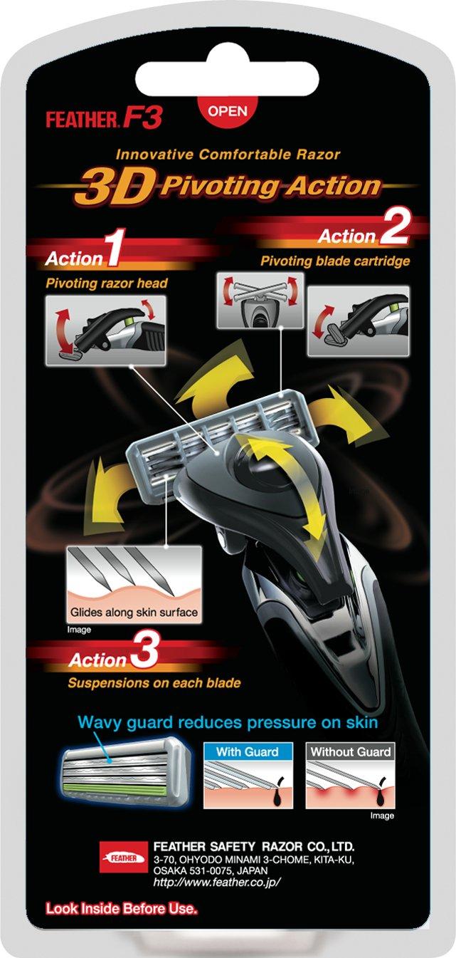 Αποτέλεσμα εικόνας για Feather Innovative Comfortable Razor F3 1000SE