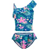 Jimmy Baha/·mas Girls 2-PC Tankini Swimsuits Halter Top with Bottoms Bathing Suit