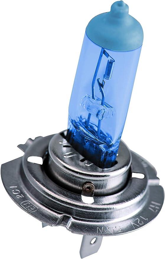 Estuche de 2 lámparas para faros halógenos KRAWEHL METAL BLUE H-7-7009.0001364: Amazon.es: Coche y moto