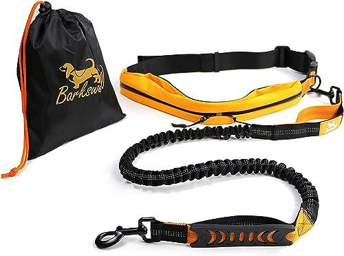 Barkswell-Handfreie-Hundeleine-für-Rennen,-Laufen-und-Wandern