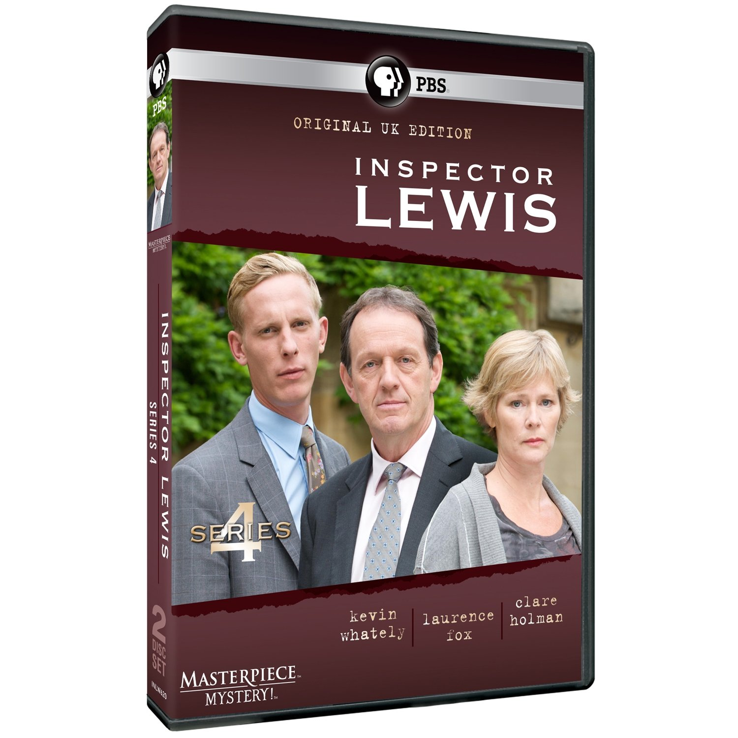 DVD : Masterpiece Mystery: Inspector Lewis 4 (2 Discos)