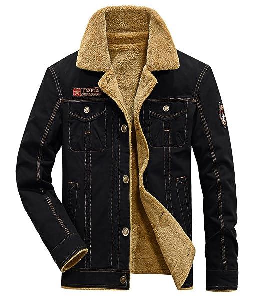 Amazon.com: 2018 Chaqueta (mezcla de lana de invierno cálido ...