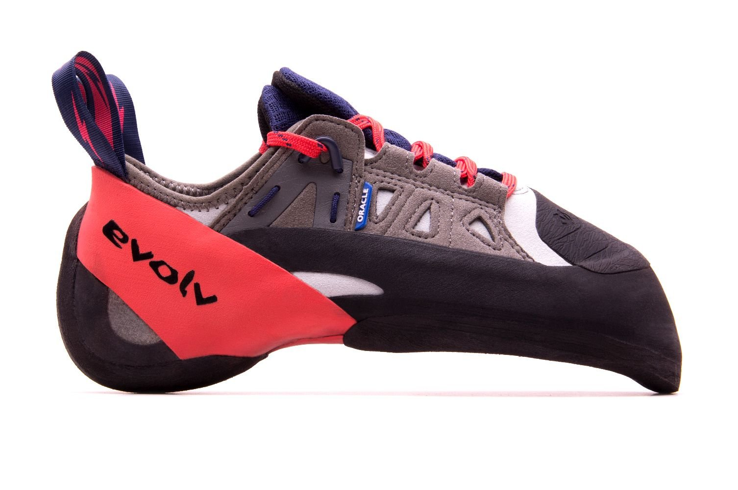 Evolv Oracle Climbing Shoe - Men's Blue/Red/Gray 8