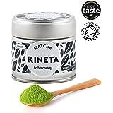 FINEST ORGANIC MATCHA GREEN TEA | Japanese matcha tea | Finest vibrant green powder | Super Premium Ceremonial Grade | Organic | Natural & Vegan | Tea Masters choice.