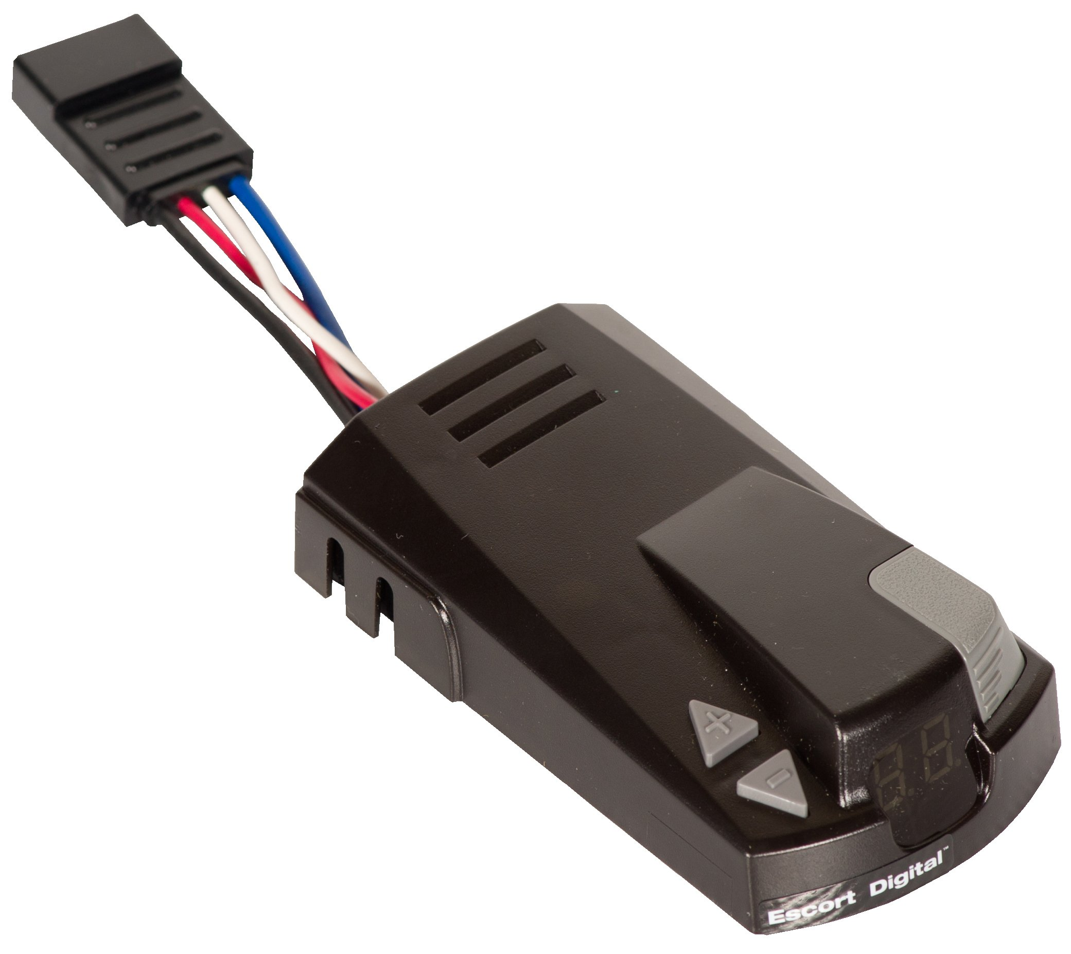 Husky 31898 Escort Digital Brake Controller with Flat Connector by Husky