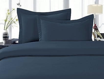 Merveilleux Amazon.com: Elegant Comfort Luxury Wrinkle Free U0026 Fade Resistant 1500  Thread Count Egyptian Quality 4 Piece Bed Sheet Set, Deep Pocket, 100 %  HypoAllergenic ...