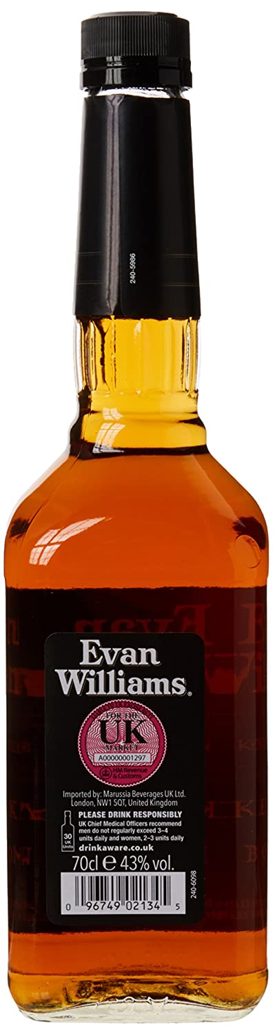 evan williams extra aged bourbon amazon co uk grocery