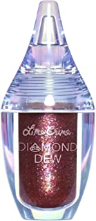 product image for Lime Crime Diamond Dew Glitter Eyeshadow, Chameleon - Iridescent Burgundy Lid Topper - Reflective Sparkle Shadow for Lids, Cheeks & Body - Won't Smudge or Crease - Vegan - 0.14 fl oz