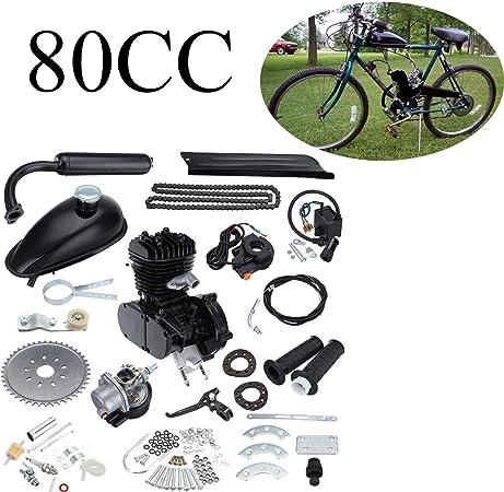 Ambienceo 80cc 2 ciclos de pedaleo Kit de conversión de bicicleta ...