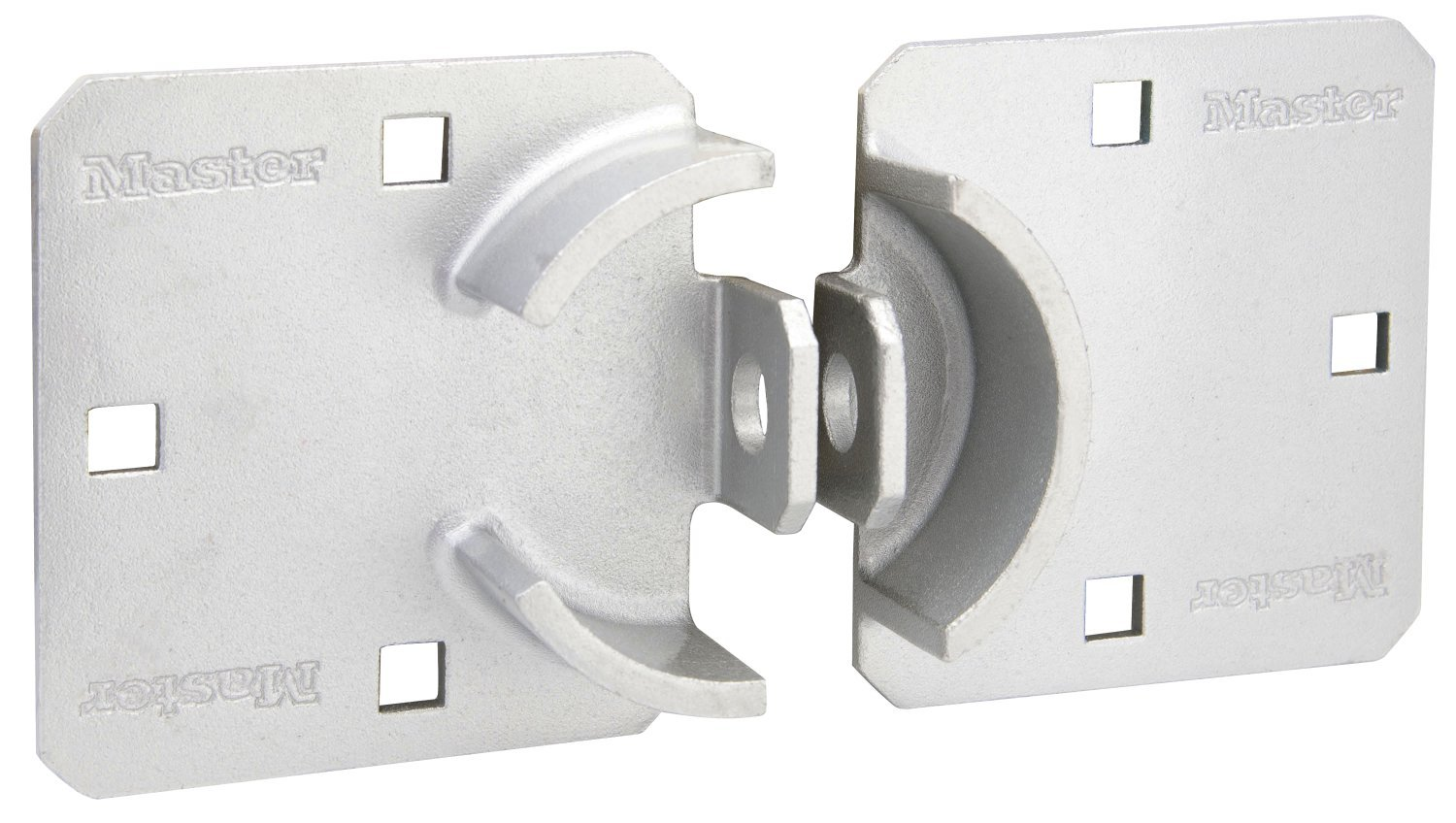 770 Master Lock Hasp Wide Solid Steel Hidden Hasp Pack of 2 9 in