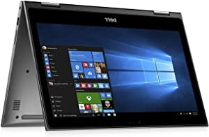 Dell Touchscreen 2-in-1 Inspiron 5000 Backlit Keyboard 13.3 inch Full HD Laptop PC, Intel Core i7-8550U Quad-Core, 8GB DDR4, 256GB SSD, WIFI, Media Card Reader, Windows 10 (Renewed)