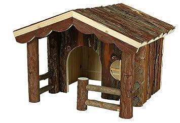 Juegos roedores Natural Living Casita conejos Knut 30x22x30 cms: Amazon.es: Hogar