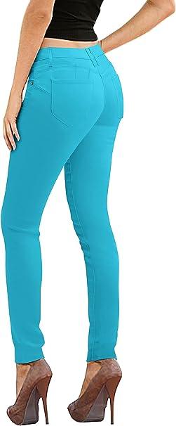 Amazon.com: Hybrid & Co. Los pantalones justados estilo ...