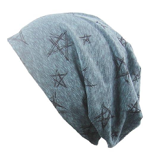 af18ab4eb89 YABINA Unisex Indoors Cotton Beanie- Soft Sleep Cap For Hairloss ...