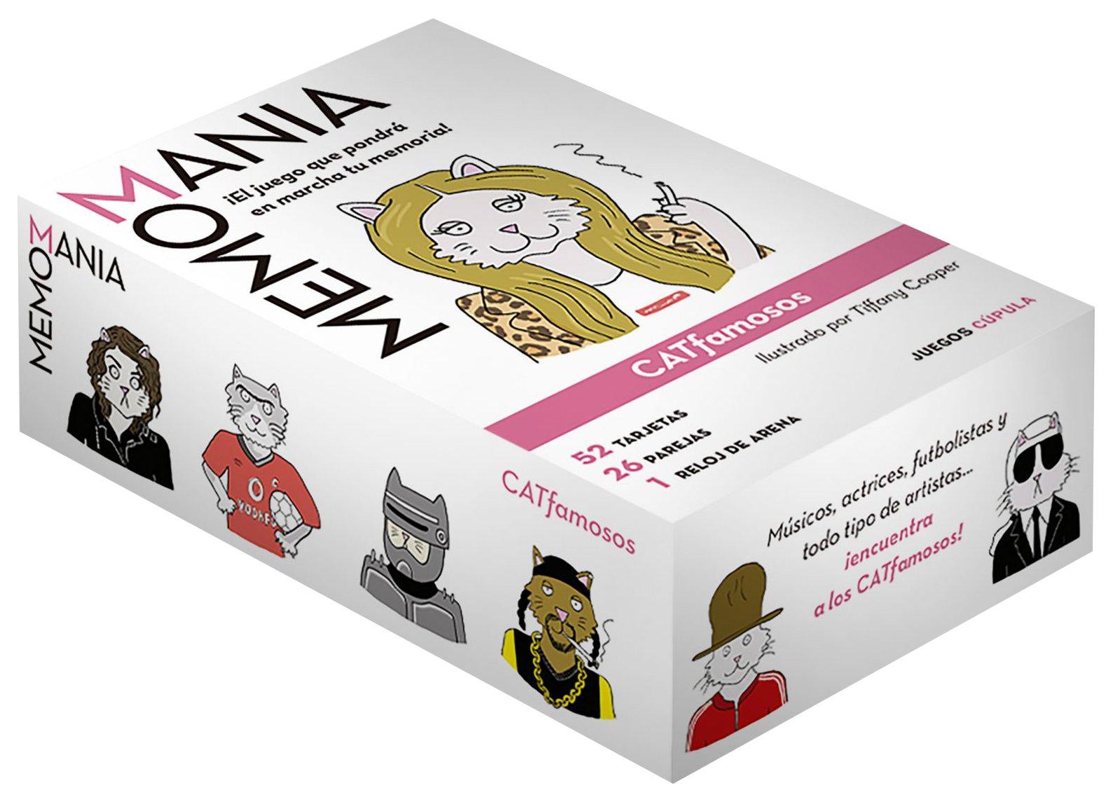 Memoman?a (Spanish) Board book – 2016