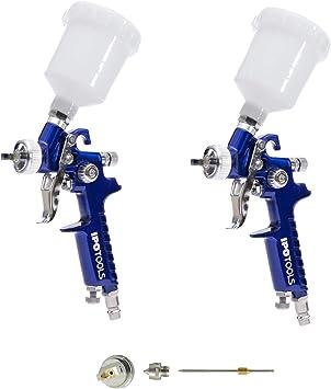0,8mm MINI HVLP Lackierpistole Spritzpistole Druckluft Spraypistole 0,8mm neu