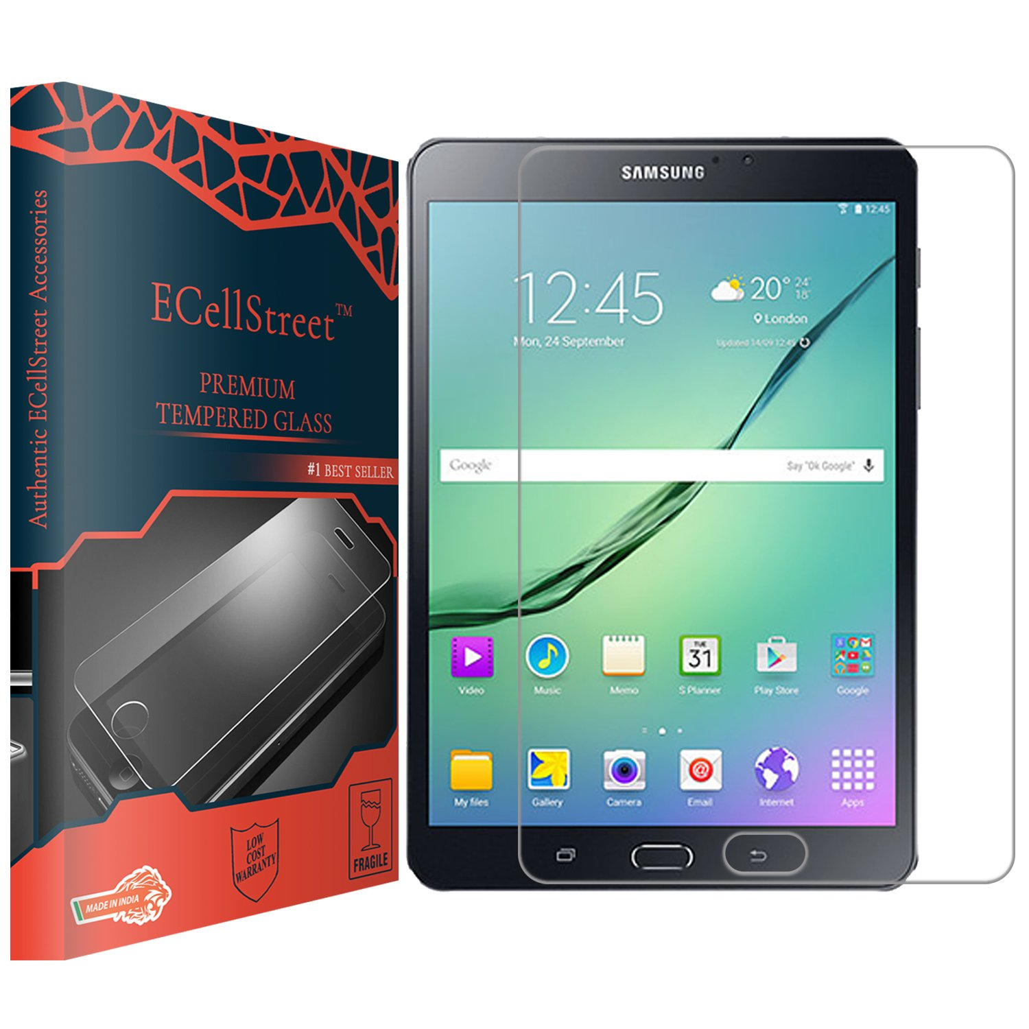 For Samsung GALAXY Tab S2 8.0 T710 T715 Genuine Tempered Glass Screen Protector