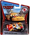 Disney Pixar CARS 2 Exclusive 1:55 Die Cast Car SILVER RACER Miguel Camino With Metallic Finish - Véhicule Miniature - Voiture
