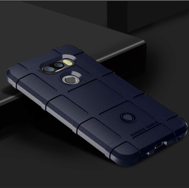 MANYIP Funda LG V30,[Textura Fibra de Carbono] Carcasa Ligera ...