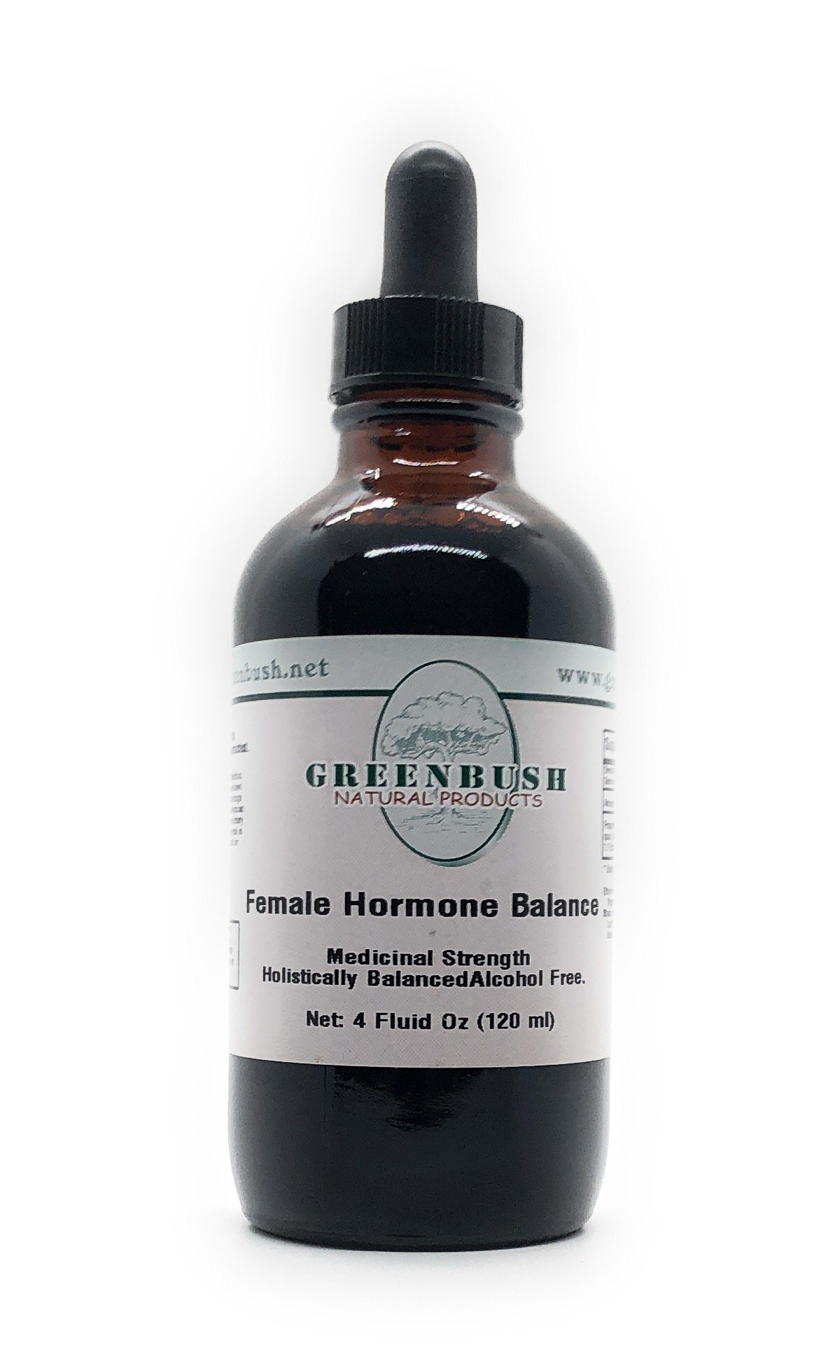 Female Hormone Balance Formula Alcohol-Free Liquid Concentrated Extract. Super Value Size 4oz Bottle (120ml) 240 Doses of 500mg. Top Herbs reproductive Health, Menstrual Cycle and Menopause Symptoms