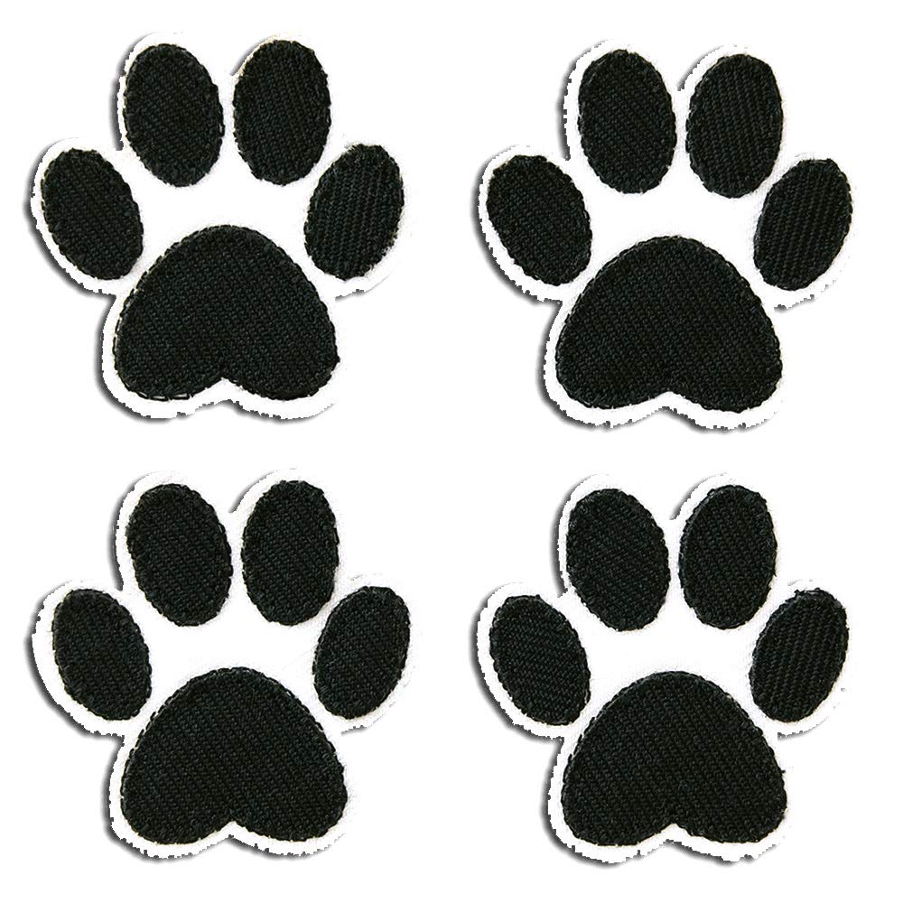 8,4x5,8cm German shepherd dog Application Embroide Iron on patches brown