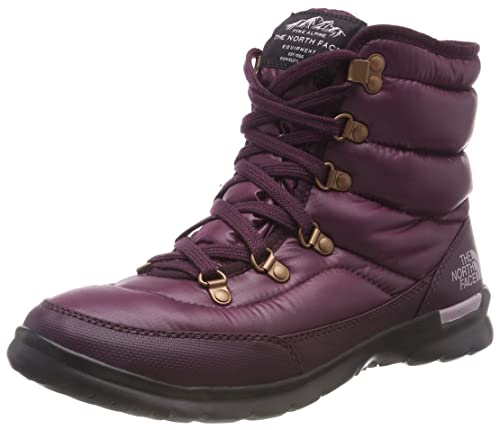 pretty nice 0c3e1 e3424 THE NORTH FACE Damen Thermoball Lace Ii Schneestiefel, Phantom Grey Heather  Print, Schuhgröße