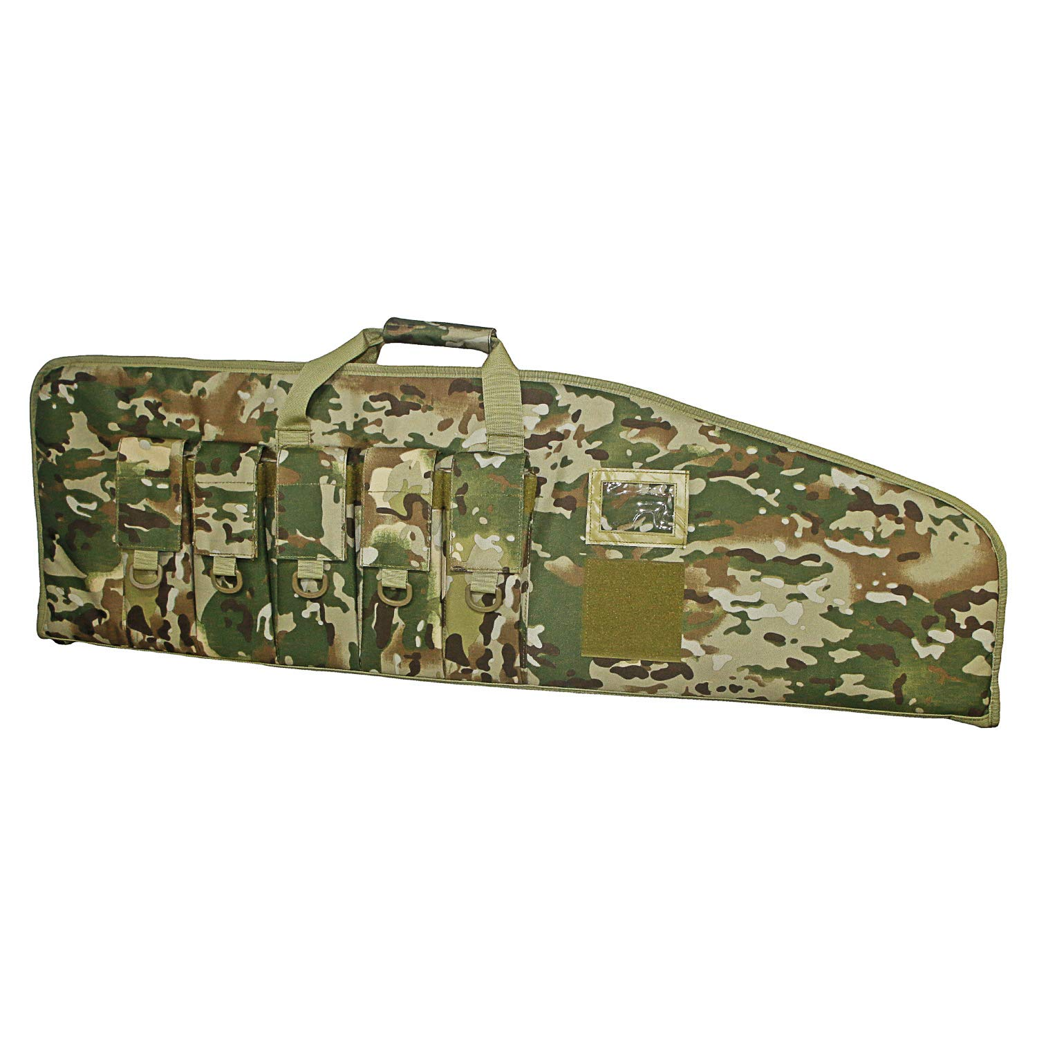 ARMYCAMOUSA Rifle Bag Outdoor Tactical Carbine Cases Water dust Resistant Long Gun Case Bag with Five Magazine Pouches for Hunting Shooting Range Sports Storage and Transport (OCP, 42'') by ARMYCAMOUSA