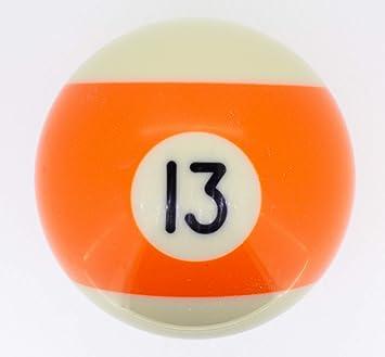 Premiergames - Bolas de billar (57,2 mm), Nr. 13, 57,2mm: Amazon ...
