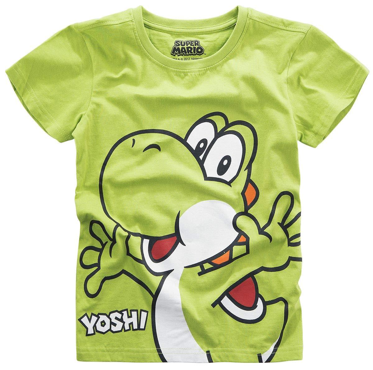 Super Mario Yoshi Kids Shirt Green