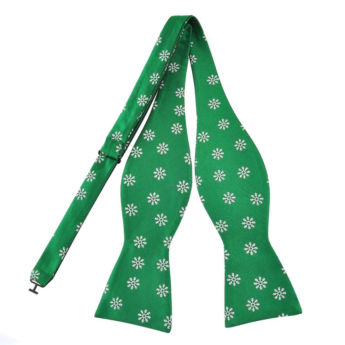 PenSee ACCESSORY メンズ B076HFH263 Christmas Snowflakes-green Christmas Snowflakes-green