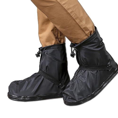 1dedb19a148 THEE Impermeable Cubrecalzado PVC Cubrezapatos de Botas de Lluvia al Aire  Libre Antideslizantes Reutilizables Cubiertas de Zapatos  Amazon.es  Zapatos  y ...