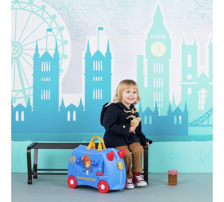 Trunki Paddington RideOn Suitcase  bluee