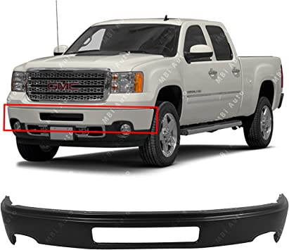Pad SIERRA 1500 07-13 FRONT BUMPER COVER New Body Style Primed
