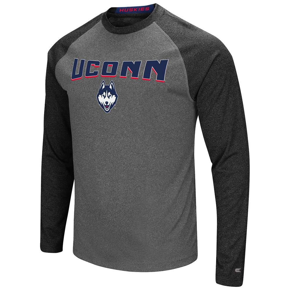 メンズ Uconnector, Connecticut Huskies 長袖ラグランTシャツ B07FKVRNNN  XX-Large