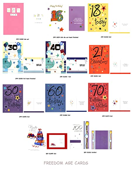 Amazon Birthday Cards For Major Milestones Collection Full Size