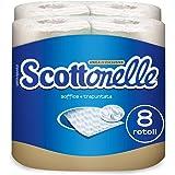 Scottonelle Carta Igienica Soffice e Trapuntata, 8 Rotoli
